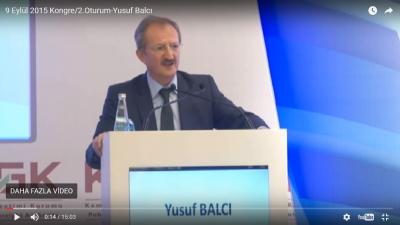 Photo of 9 EYLÜL 2015 KONGRE/2.OTURUM-YUSUF BALCI