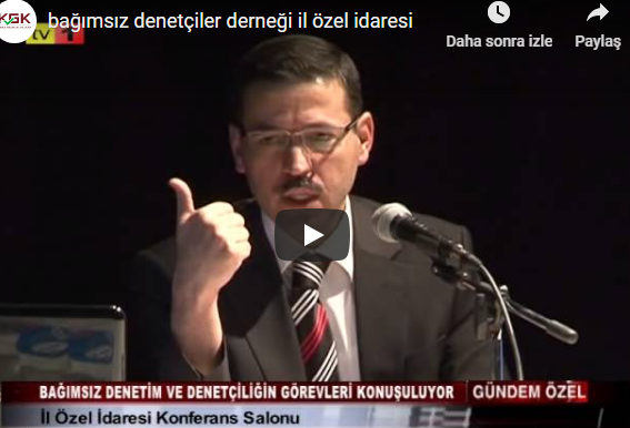 Photo of KAYSERİ BAĞIMSIZ DENETÇİLER DERNEĞİ PANEL