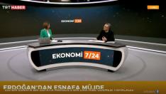 Abdullah TOLU' nun Konuk Olduğu TRT Haber Ekonomi 7/24 Programı